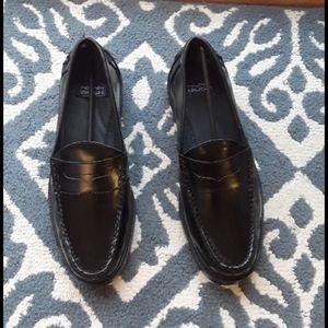 Nunn Bush men's leather penny loafer shoes